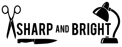 Sharp and Bright Logo
